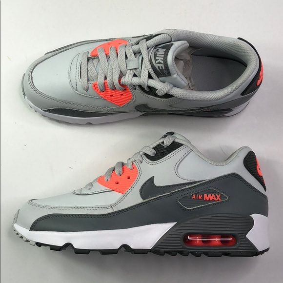 watch a978a edf4b Air Max 90 Leather GS Size-7 MEN 8.5 WOMEN